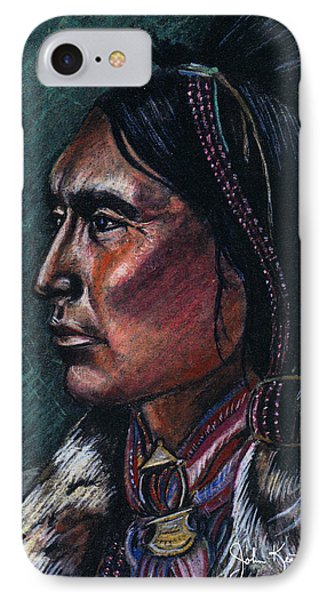Indian Brave Phone Case by John Keaton