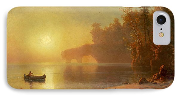 Indian Canoe IPhone Case