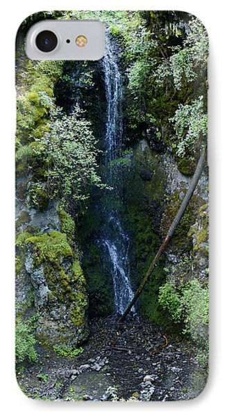 IPhone Case featuring the photograph Indian Canyon Waterfall by Ben Upham III