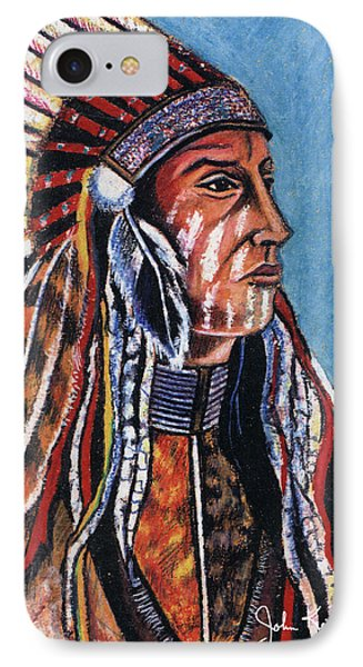 Indian Chief Phone Case by John Keaton