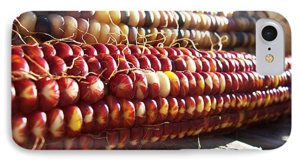 IPhone Case featuring the photograph Indian Corn On The Cob by Shawna Rowe