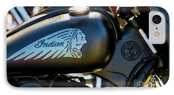IPhone Case featuring the photograph Indian Dark Horse by Tim Gainey