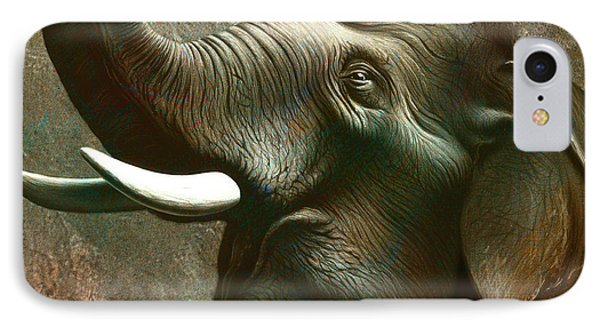 Indian Elephant 2 IPhone Case