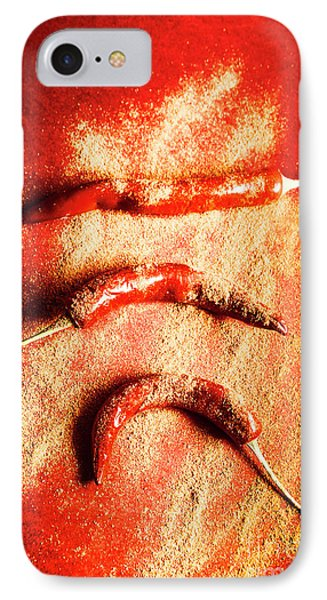 Indian Food Seasoning And Spices IPhone Case by Jorgo Photography - Wall Art Gallery
