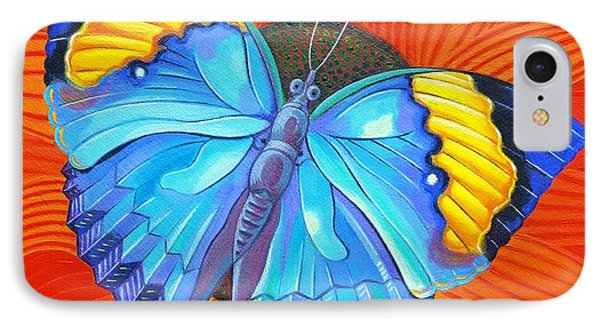 Indian Leaf Butterfly IPhone Case