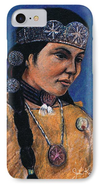 Indian Maiden Phone Case by John Keaton