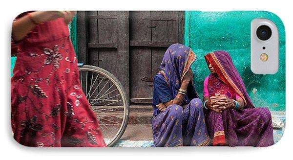 Indian Mood Phone Case by Marji Lang