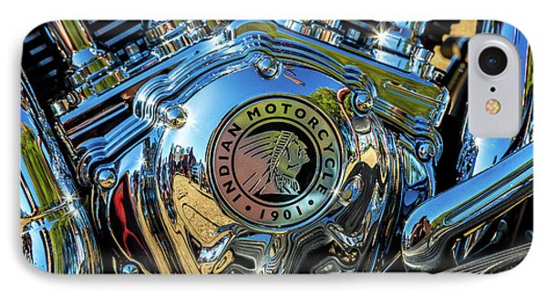 Indian Motor IPhone Case by Keith Hawley