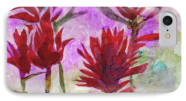 Indian Paintbrush IPhone Case by Julie Maas