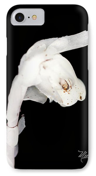 IPhone Case featuring the photograph Indian Pipe Head by Meta Gatschenberger