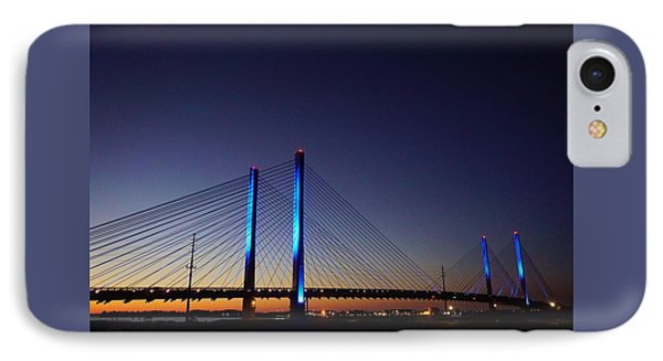 IPhone Case featuring the photograph Indian River Inlet Bridge by Ed Sweeney