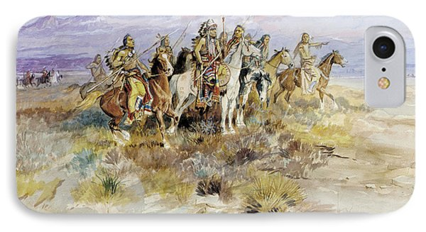Indian Scouting Party IPhone Case