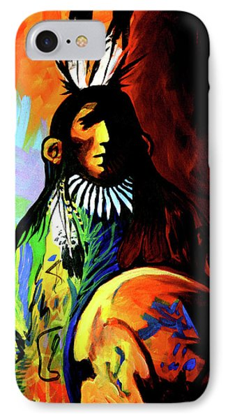 Indian Shadows Phone Case by Lance Headlee