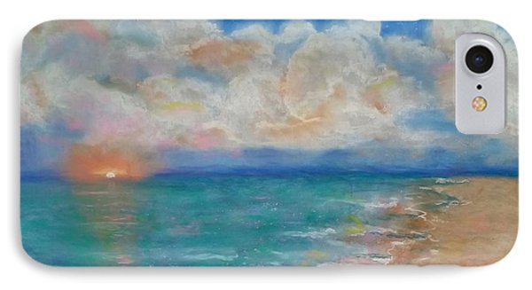 Indian Shores IPhone Case by Vickie Scarlett-Fisher