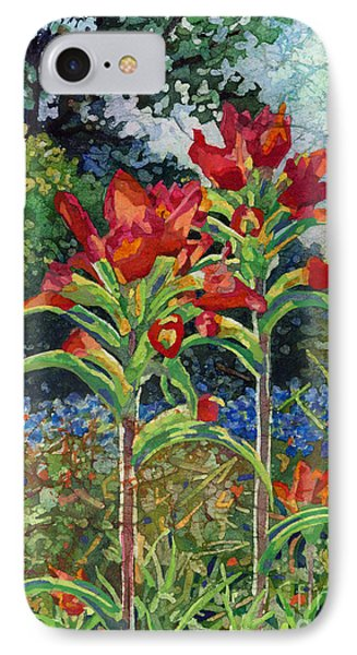 IPhone Case featuring the painting Indian Spring by Hailey E Herrera