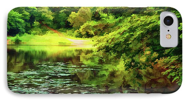 Indian Summer Lake IPhone Case