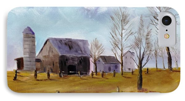 Indiana Farm IPhone Case by Larry Hamilton