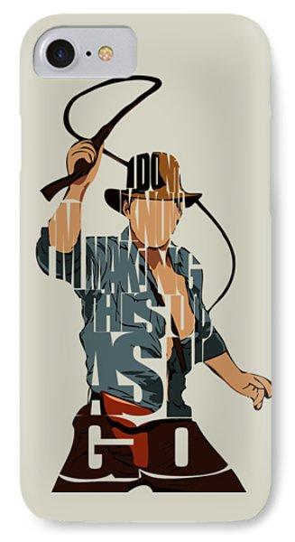Indiana Jones - Harrison Ford IPhone Case