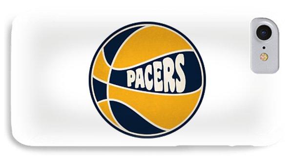 Indiana Pacers Retro Shirt IPhone Case by Joe Hamilton