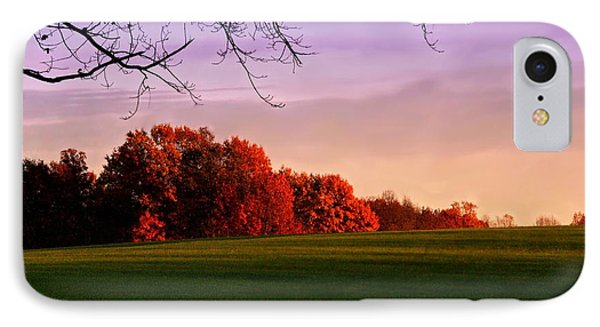 Indiana Sunset IPhone Case by Diane Merkle