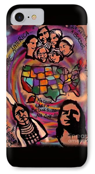 Indigenous America 101 IPhone Case by Tony B Conscious