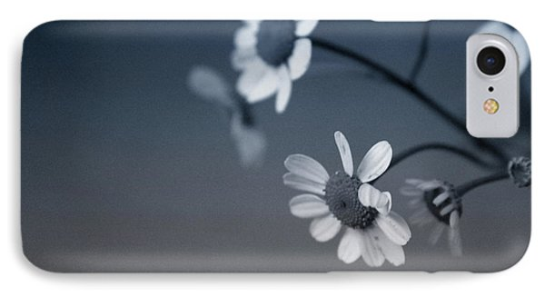 Daisy iPhone 7 Case - Indigo Daisies 2- Art By Linda Woods by Linda Woods