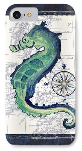 Indigo Maritime 2 IPhone Case by Debbie DeWitt
