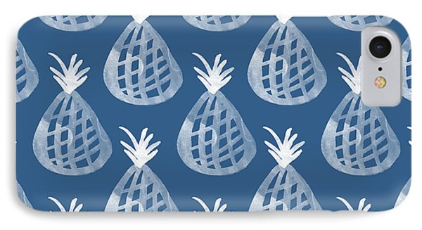 Indigo Pineapple Party IPhone 7 Case