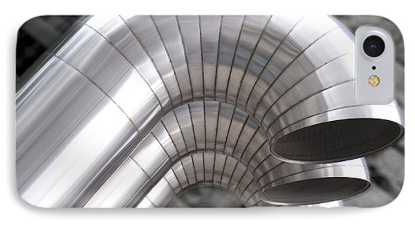 Industrial Air Ducts IPhone Case