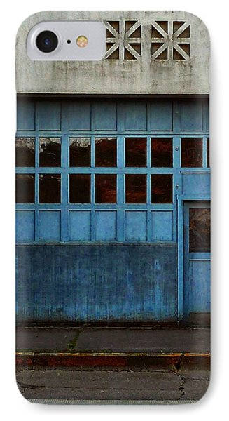 Industrial Blue IPhone Case by Patricia Strand