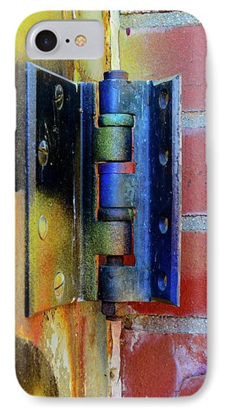 IPhone Case featuring the photograph Industrial by Corinne Rhode