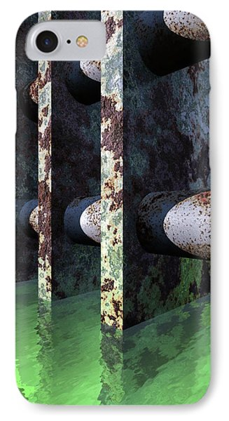 Industrial Disease Phone Case by Richard Rizzo