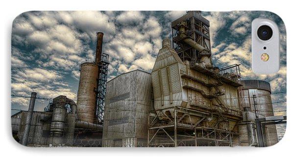 Industrial Disease IPhone Case by Wayne Sherriff