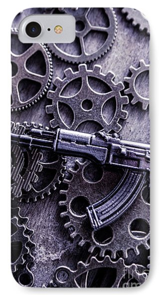 Industrial Firearms  IPhone Case by Jorgo Photography - Wall Art Gallery