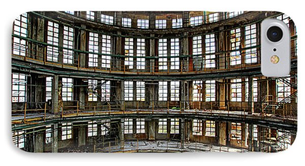 IPhone Case featuring the photograph Industrial Heritage - Urban Exploration by Dirk Ercken