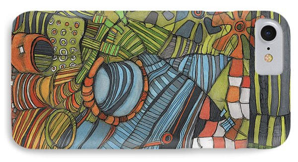 Industrial Landscape IPhone Case by Sandra Church