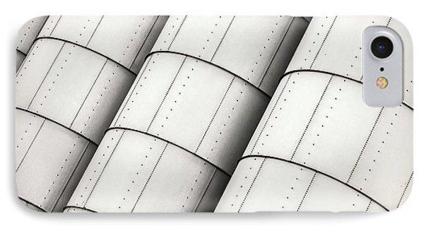 Industrial Storage Tanks IPhone Case by Todd Klassy