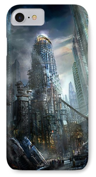 Industrialize Phone Case by Philip Straub