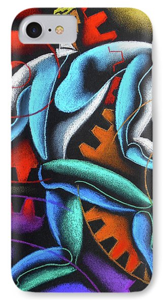 Industry And Labor IPhone Case by Leon Zernitsky