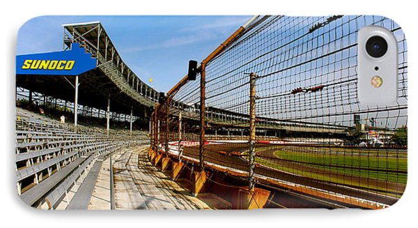 IPhone Case featuring the photograph Indy  Indianapolis Motor Speedway by Iconic Images Art Gallery David Pucciarelli