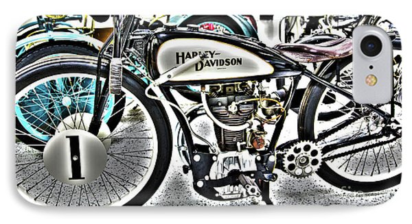 Indy Race Car Museum Harley Davidson IPhone Case by ELITE IMAGE photography By Chad McDermott