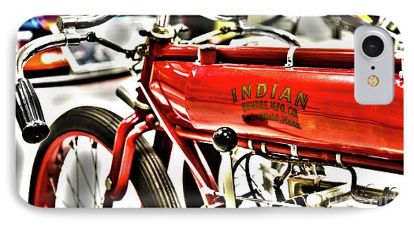 Indy Race Car Museum Indian Motorcycle IPhone Case by ELITE IMAGE photography By Chad McDermott
