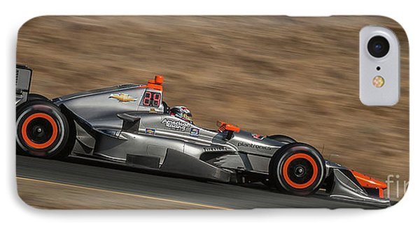 Indycar 2015 IPhone Case by Webb Canepa