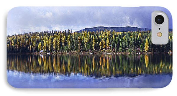 Inez Lake Montana IPhone Case by Janie Johnson