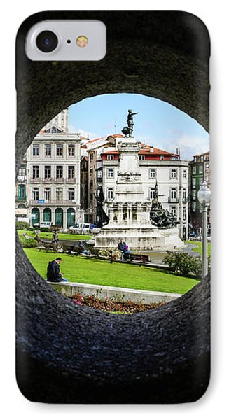 Infante Dom Henrique Square IPhone Case by Marco Oliveira