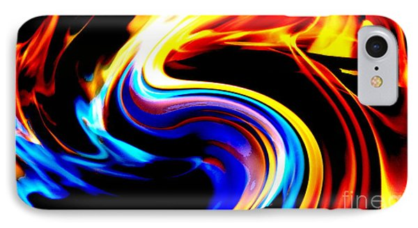 Inferno Abstract I IPhone Case