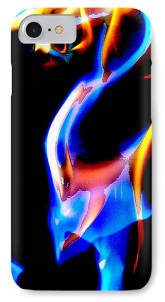 Inferno Abstract V IPhone Case
