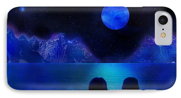 IPhone Case featuring the photograph Infinite Dreams by Bernd Hau