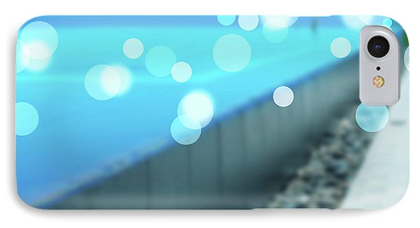 IPhone Case featuring the photograph Infinity Pool by Atiketta Sangasaeng