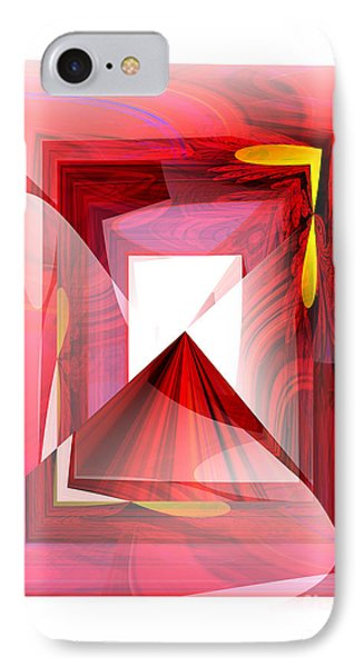 Infinity Tunnel  IPhone Case by Thibault Toussaint